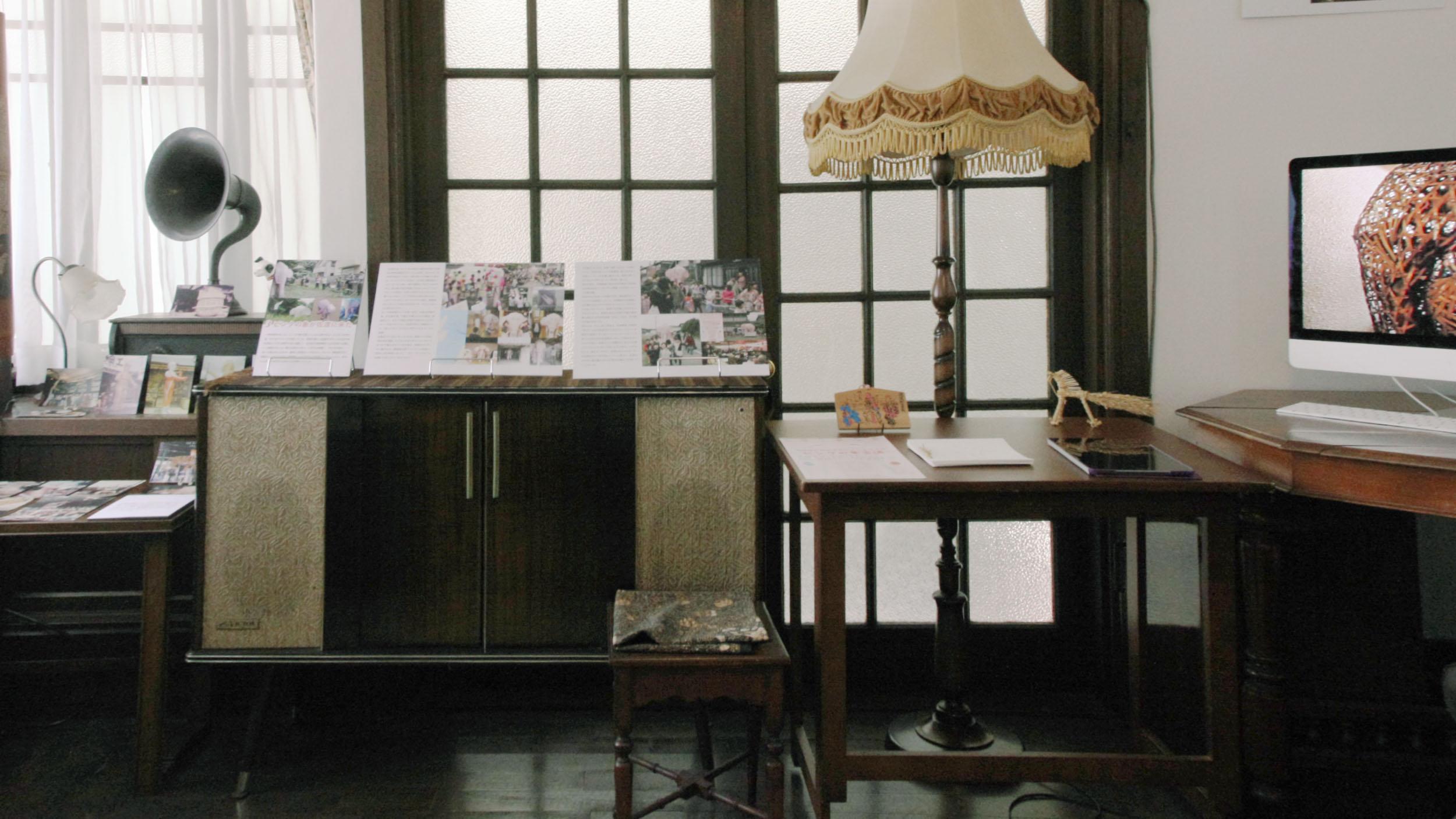 一欅庵展示の様子( チャサンポー2018 )