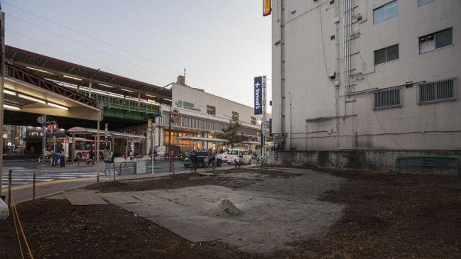 喜久屋の更地