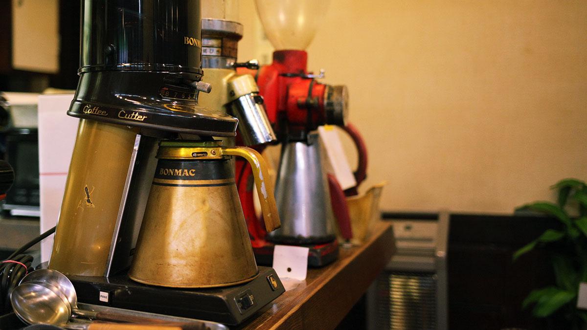POTのコーヒーミル
