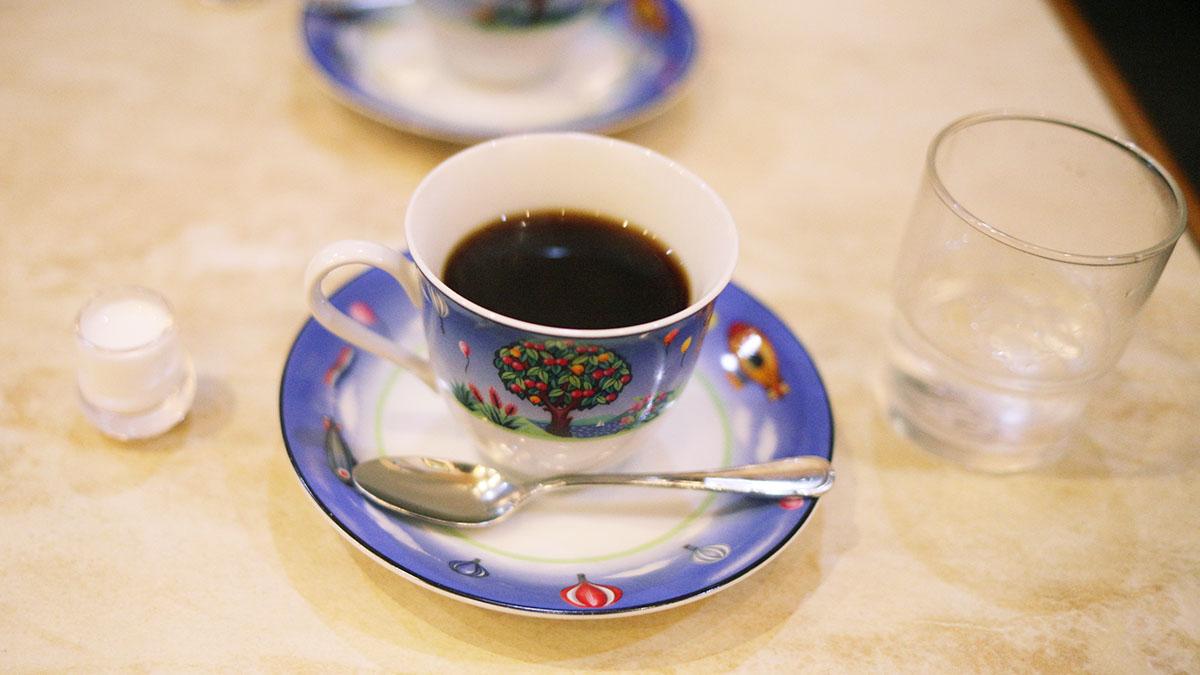談話室しみずのコーヒー