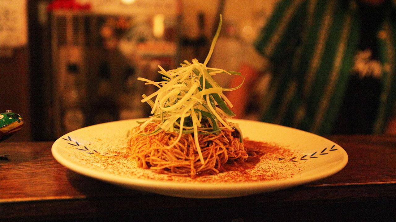 スナック慕情 の蝦子撈麺