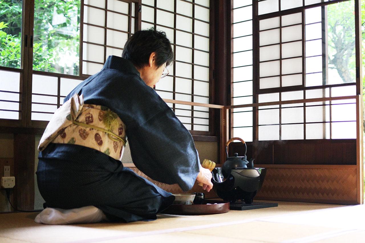 一欅庵の茶室