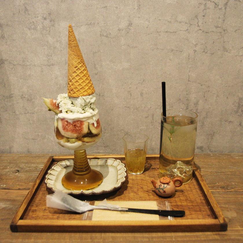 sweet olive 金木犀茶店 金木犀鐵観音パフェ