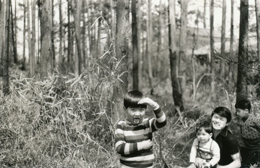 関根山の雑木林